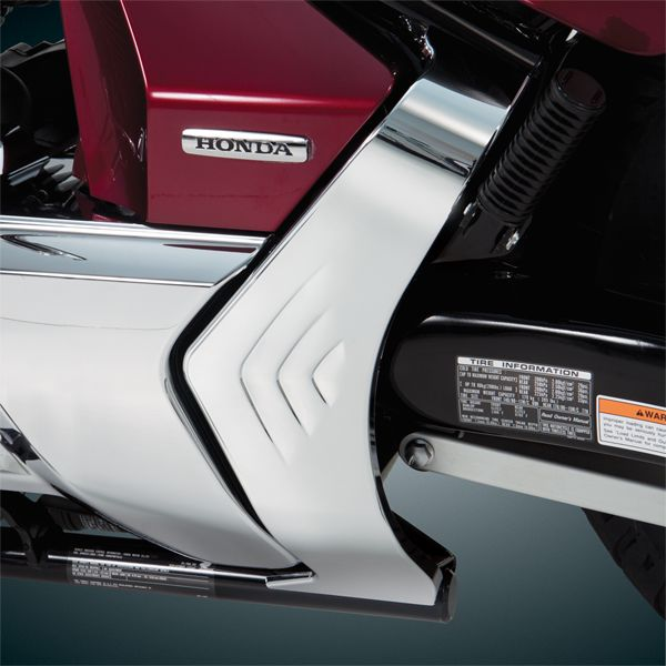Chrome Frame Cover for Honda VT1300